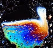 Abstrakt vibrerande färgrik bakgrund Fotografering för Bildbyråer