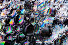 Abstrakt vibrerande färgrikt för konst, bakgrund Royaltyfri Foto