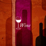 Abstrakt vinbakgrund Arkivfoto