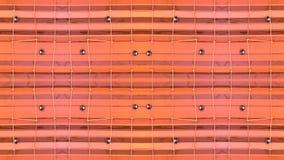 Abstrakt vinkande polygonal raster 3D eller ingrepp av att pulserar geometriska objekt Bruk som abstrakt cyberspace geometriskt stock video