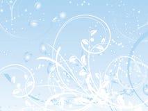 abstrakt vinter stock illustrationer