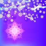 Abstrakt vinterbakgrund Royaltyfri Fotografi