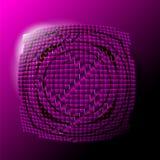 Abstrakt violett bakgrund Arkivbild