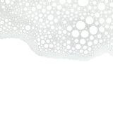 Abstrakt vit bakgrund för skumbubblor Royaltyfri Bild
