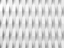 Abstrakt vit bakgrund, lättnad för 3 D Royaltyfria Bilder