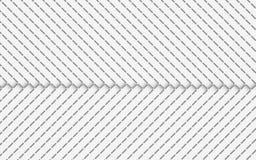 Abstrakt vit bakgrunds- och metalltextur vektor illustrationer
