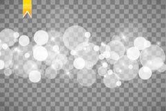 Abstrakt vit bokeheffektexplosion med modern design för gnistor Brusten glödstjärna eller ljus effekt för fyrverkeri sparkles vektor illustrationer