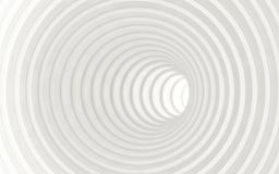 Abstrakt vit geometrisk bakgrund 3d framför Royaltyfri Fotografi