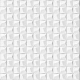 Abstrakt vit geometrisk bakgrund 3d Vit sömlös textur med skugga Enkel ren vit bakgrundstextur wal inre 3D Royaltyfria Bilder