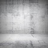 Abstrakt vit inre av tomt rum Royaltyfria Bilder