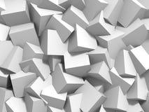 Abstrakt vit skära i tärningar väggbakgrund Arkivbilder