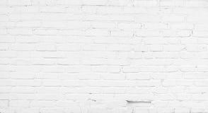 Abstrakt vit tegelstenbakgrund Arkivfoto