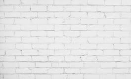 Abstrakt vit tegelstenbakgrund Arkivfoton