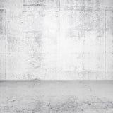Abstrakt vit tom inre Arkivbilder