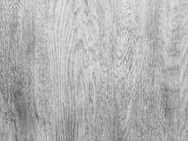 Abstrakt vit wood textur för bakgrund med den naturliga gamla modellen Gråtonyttersidabakgrund Arkivbild