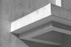 Abstrakt vitt arkitekturfragment Royaltyfri Foto