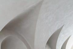 Abstrakt vitt inre tak Arkivbild