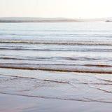 abstrakt w Morocco Africa oceanu dennej fala i lanscape Zdjęcia Stock
