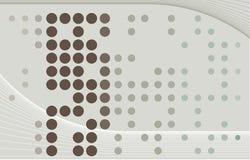 abstrakt wallpaper för klarteckensolbrännavektor Royaltyfri Foto