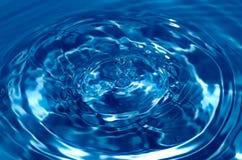 abstrakt waterdrop Fotografering för Bildbyråer