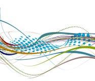 abstrakt wave stock illustrationer