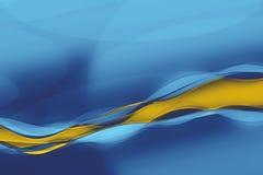 abstrakt wave Arkivfoton