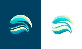 abstrakt wave vektor illustrationer