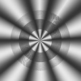 Abstrakt wavy formar att peka i en riktning stock illustrationer