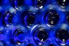Abstrakt: Wieloskładnikowa błękitnooka tajemnica Obrazy Royalty Free