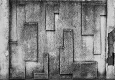 Abstrakt wietrzał tekstura plamiącego starego płatkowanie stiuku światło - szarość obraz stock