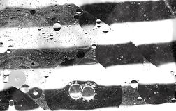 Abstrakt wody i oleju bąble Zdjęcie Stock