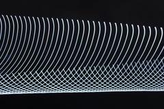 Abstrakt wolna żaluzja zaświeca zbliżenie zdjęcie stock