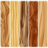 Abstrakt wood textur för vektor i plan design Fotografering för Bildbyråer
