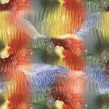 Abstrakt wykładał marmurem tło, nacre tekstura, błękitnej marmoryzacji faliste linie, artystyczna ciekła farby tekstura, kreatywn zdjęcie royalty free