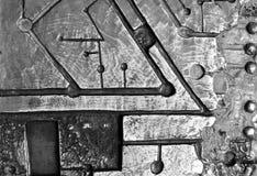 abstrakt wykłada kształty Zdjęcia Royalty Free