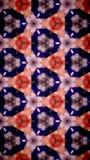 Abstrakt Wypięknia kwiatu bokeh wzoru tło Zdjęcie Stock