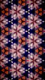 Abstrakt Wypięknia kwiatu bokeh wzoru tło Zdjęcie Royalty Free