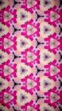 Abstrakt Wypięknia kwiatu bokeh wzoru tło Obraz Stock