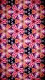 Abstrakt Wypięknia kwiatu bokeh wzoru tło Obrazy Royalty Free