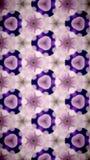Abstrakt Wypięknia kwiatu bokeh wzoru tło Obraz Royalty Free