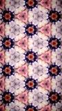 Abstrakt Wypięknia kwiatu bokeh wzoru tło Obrazy Stock