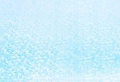 Abstrakt Zamazywał błękitnego brzmienia tło z małą głębią pole fotografia stock