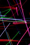 abstrakt zaświeca neon Zdjęcia Stock