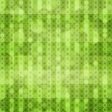 Abstrakt zieleń okrąża bezszwową teksturę Obraz Stock