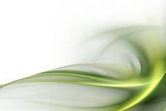 Abstrakt zieleń Obrazy Stock