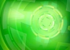Abstrakt zieleń Okrąża tło tapetę Zdjęcia Stock