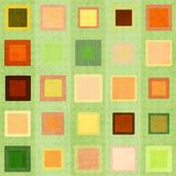 Abstrakt zieleni kwadrat bezszwowy Obraz Royalty Free