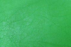 Abstrakt zieleni textured rzemienny tło fotografia stock
