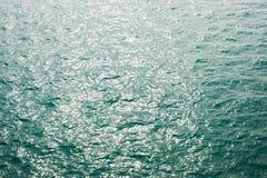 Abstrakt zieleni wody morze Obraz Stock