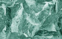 Abstrakt zielonej akwareli tekstury kolorowy tło Fotografia Stock